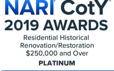 Golden-Eye Construction Received NARI CotY 2019 Awards